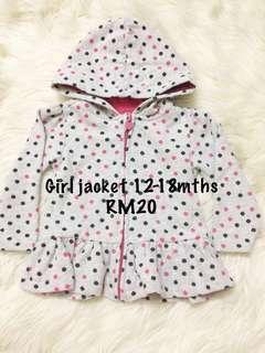Baby girl sweater 12-18m