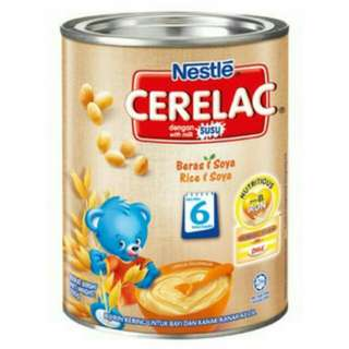 To bless Cerelac Rice & Soya