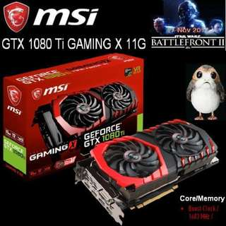 MSI GTX 1080 Ti GAMING X 11G GeForce..