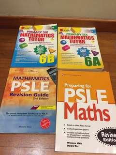 Psle math assessment books