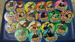Naruto Pogs