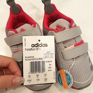 BNWT Adidas Toddler Shoes