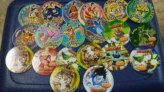 Pokemon & Dragon Ball Pogs