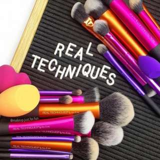 [ Authentic ] Real Techniques Makeup Brushes List