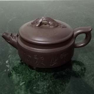 Zisha Teapot 如意貔貅壶