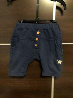 深藍小短褲