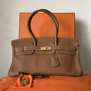 Authentic Hermes Shoulder Birkin