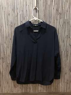 Uniqlo Extra Fine Cotton Long Sleeve Shirt