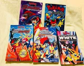 Pokemon movie comic manga books