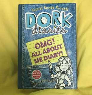 Dork Diaries (hardcover) OMG All About Me Diary