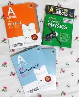 Brand New A level H2 Physics Econs TYS