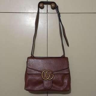 Preloved Gucci genuine leather shoulder bag