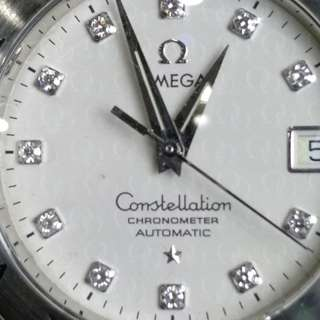 Pre owned Omega constellation  Diamond marker dial 50th Anniversary No box and paper