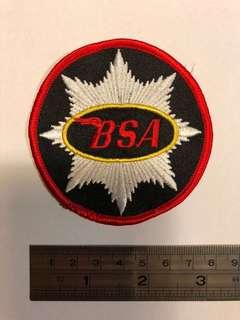 Rare BSA patch