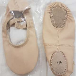 Ballet Shoes Leather BNIB 210cm