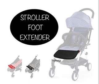 Stroller Leg Foot Rest Extender