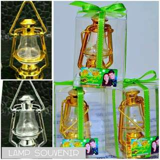 Lamp souvenir for all occasion ( wedding debut reunion etc.)