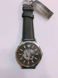 Emporio Armani limited edition year of dragon leather watch, number 588 lucky number