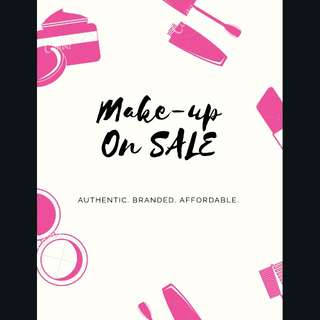 Authentic Make up On Sale