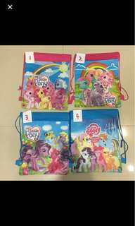 $1.2-$1.5 My Little Pony Drawstring Bag
