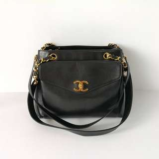 Authentic Chanel Vintage Shoulder Bag