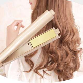 2 IN 1 蒸汽直髮捲髮器 Professional hair curler & straightener