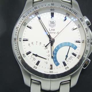 TAG HEUER Link Calibre S Laptimer Ref: CJF7111.BA0587 - men's watch - Year 2010