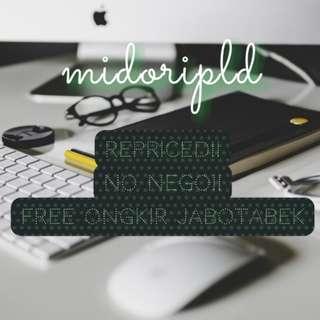 Repriced! NETT!! Free Ongkir Jabotabek!!