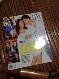 KathNiel star studio Magazine August 2016