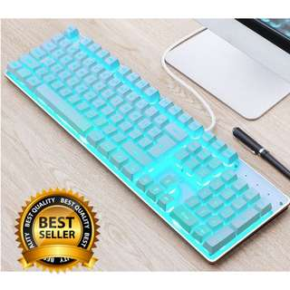 🚚 Semi-Mechanical Icy Cool Gaming Keyboard
