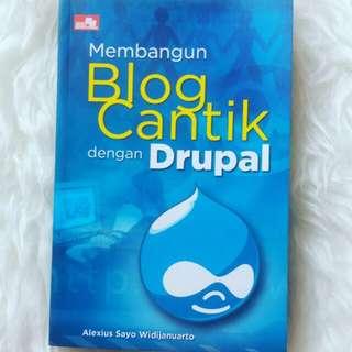 #orangutan Buku Membangun Blog Cantik dengan Drupal [PRELOVED]