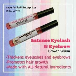 Intense Eyelash and Eyebrow Growth Serum