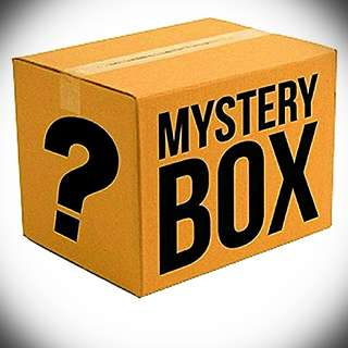 RANDOM ITEMS MYSTERY BOX; SATISFACTION GUARANTEED!!