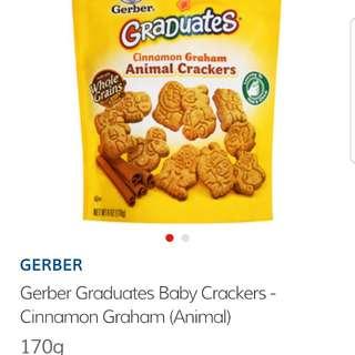nestle gerber graduates animal crackers