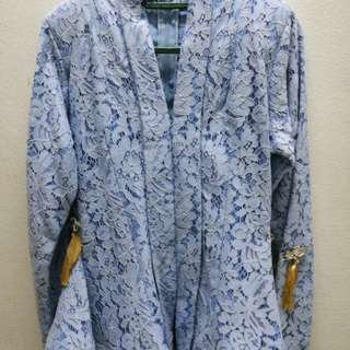 Kebaya light blue , wardrobe2ukl
