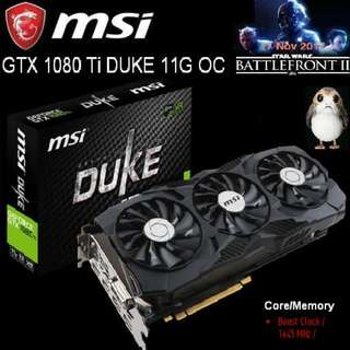 MSI GTX 1080 Ti DUKE 11G OC GeForce.. ( 2 month ago, OLD )