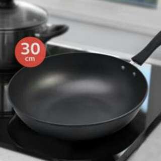 Stainless Steel Frying Pan 30 cm Harga nego sampai jadi