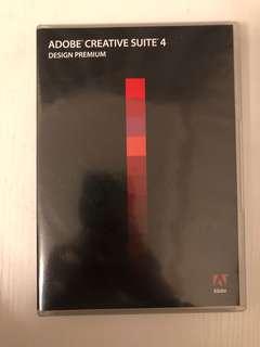Adobe Creative Suite 4 CS4 design premium for Windows (photoshop, illustrator, indesign)