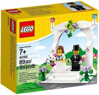 [NEW] Lego 40165 Wedding Set