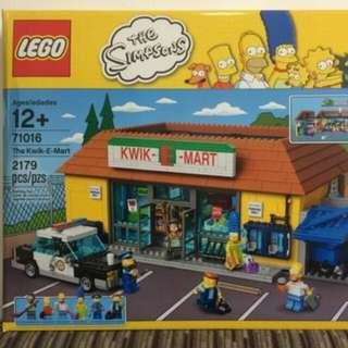 LEGO 71016 The Kwik-E-Mart The Simpsons