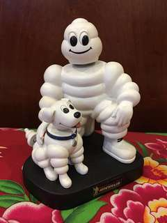 Michelin Man and Dog Nodder Bobble Head