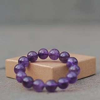 水晶 手鏈 紫晶 紫水晶 crystal