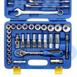 "King Toyo 1/2"" DR Socket Wrenches Set"