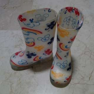 Tokyo Disney kids Rain Boots