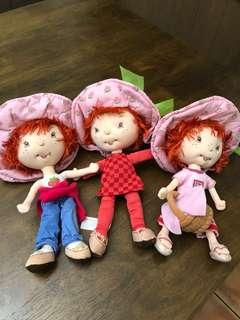 Strawberry Shortcake Girls - Soft Plush