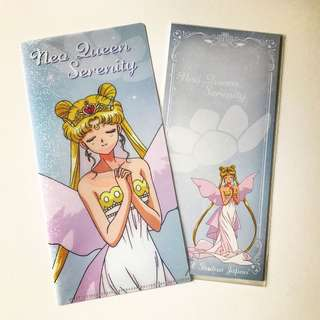 罕有‼️USJ隱藏版Sailormoon file&memo set