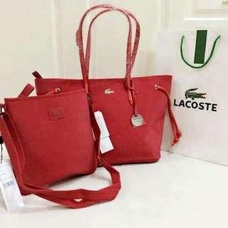 Lacoste Bag Replica Set