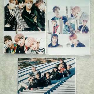 BTS POSTER YOU NEVER WALK ALONE