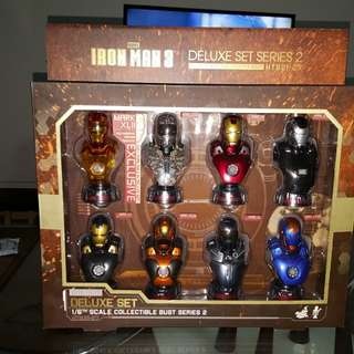 Hot Toys Iron Man 3 Deluxe Set Series 2