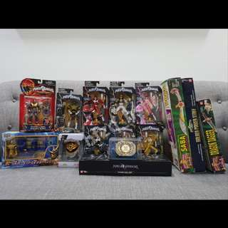 (UPDATED WITH PRICE) Power Rangers Vintage/Legacy Clear-Out!!